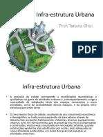 Infra-estrutura Urbana - Conceituação