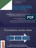 bujor alexandra variabilitatea raspunsului la terapia anticoagulanta.pptx