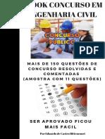 QUESTOES DE CONCURSO RESOLVIDAS E COMENTADAS (11 QUESTOES)