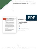 (DOC) Resumen de la lectura_ _ La ciencia, su método y su filosofía _ por Mario Bunge _ Lucia Ruiz - Academia.edu