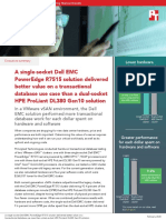 A single-socket Dell EMC PowerEdge R7515 solution delivered better value on a transactional database use case than a dual-socket HPE ProLiant DL380 Gen10 solution - Summary