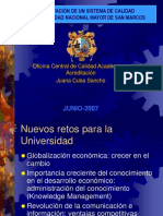 Implementacion de un sistema de caliad - Juana Cuba