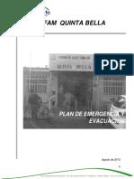plan de emergencias quinta bella