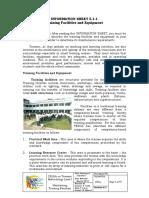 5.1-1 - Training Facilities and Equipment.pdf