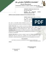 RECURSO DE APELACIÓN CONTRA RESOLUCIÓN