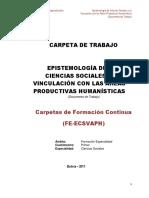 Carpeta de Epistemología Cs Sociales y su vinculación con las áreas Productivas Humanisticas.pdf