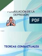 FORMULACIÓN DE LA DEPRESIÓN diapositivas