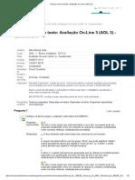Revisar envio do teste_ Avaliação On-Line 3 (AOL 3) - .