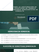 Protocolo para la legitimación de contratos colectivos de trabajo