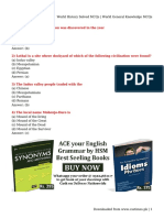World History Solved MCQs _ World General Knowledge MCQs.pdf