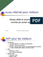 Accès Internet pour visiteurs