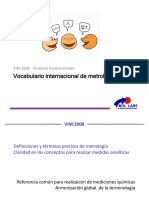 Vocabulario internacional de metrologia