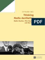 Thinking media aesthetics