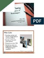 Cohn Planning Basics to Brainstumpers Agile2010