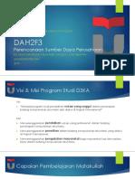 DAH2F3-PSDP-MDA-Gambaran-Umum-Matkul-2018-2