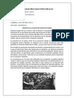 PRINCICPIO DE LA INDUSTRIA MANUFACTURERA