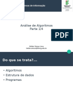 Analise de Algoritmos