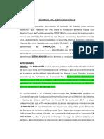 1. PROYECTO DE  CONTRATO PARA SERVICIO ESPECÍFICO -PROFESORES (1).docx