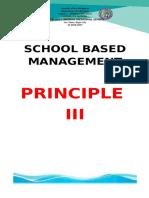 PRINCIPLE 3 ARTIFACTS
