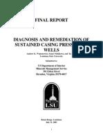 MMS - Diagnosis of SCP - 2001-07-31