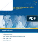 CMS ID Management Learning Event