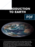 Introduction to Earth