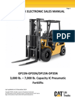 Caterpillar Forklift GP35N IC Pneumatic Trucks Electronic Sales Manual.pdf