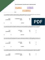Ejercicios de anualidades,ecuacion valor y amortizaciones