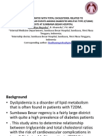 TRIGLYCERIDE RATIO WITH TOTAL CHOLESTEROL PPT IBAN