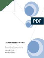 Homemade Primer Course 2019-06-28