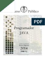 Prova objetiva - Programador JAVA