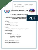 LAB. 1 - EVALUACIÓN DE RESISTENCIA Y OLONGACIÓN EN BOLSAS PLÁSTICAS