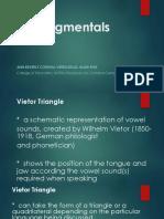 1 - The Segmentals - Vowels, Dipthongs, Consonants Intro