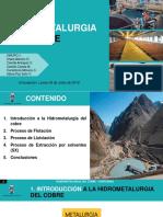 Hidrometalurgia del Cobre - ppt Final.pptx