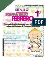 1° Cuadernillo Didáctico Febrero