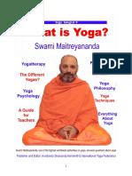 Book of Yoga What is Yoga - Dharmachari  Maitreyananda