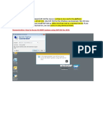 SAP GUI for the Java Environment