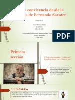 Ética y convivencia desde la postura de Fernando