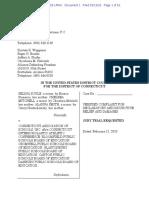 Transgender Athletes Federal Lawsuit