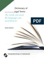 Polish Dictionary of European Legal Terms