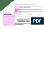 planeación proporcionalidad directa e inversa 2do. secundaria