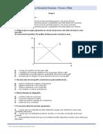 Economia - Exercícios de Exame Nacional - Procura Oferta