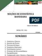Noções de Estatística Bayesiana