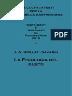 Brillat-Savarin - La Fisiologia del gusto.pdf
