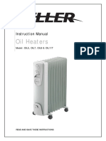 Oil Heater Instuction Manual