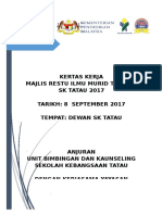 KERTAS KERJA MAJLIS RESTU ILMU 2017