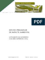 estudo de impacto ambiental loteamento e AIV.pdf