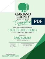 !2020 State of the County Address