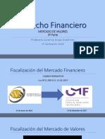 4. Derecho Financiero. Mercado de Capitales III