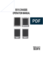 BX1S CHASSIS OPERATION MANUAL